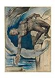 Spiffing Prints William Blake - Antaeus Setting Dante and Virgil - Medium - Matte - Framed