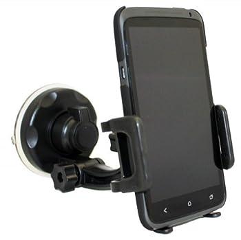 Xenda Universal Windshield Car Mount Cell Phone Holder Window Suction Cup Dock for Verizon Casio G-zone Commando - Verizon HTC Thunderbolt 4G - Verizon HTC Droid DNA