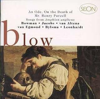 ジョン・ブロウ:ヘンリー・パーセルの死を悼む頌歌
