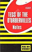 Hardy: Tess Of The D'urbervilles: Notes 0774033800 Book Cover