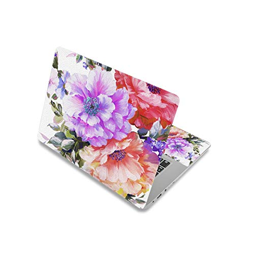 Flower Laptop Skin Notebook Sticker 17inch 13.3' 14' 15.6' Computer Cover Decal for Macbook/Lenovo/Dell-laptop skin 2-17inch