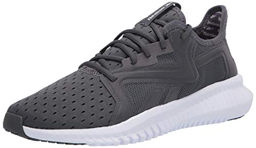 Reebok Men's FLEXAGON 3.0 Cross Trainer, True Grey/White/True Grey, 9 M US