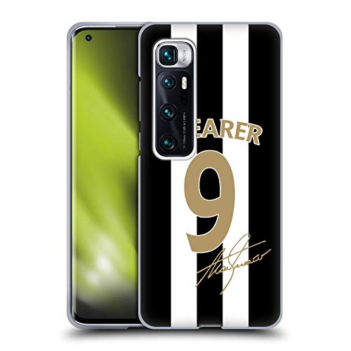 Head Case Designs Officially Licensed Newcastle United FC NUFC Alan Shearer Signed Gold Jersey Retro Badge Collection Soft Gel Case Compatible with Xiaomi Mi 10 Ultra