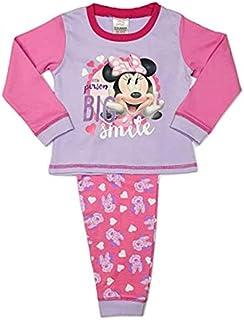 Disney Minnie Mouse Baby Pijama de bebé de 12 a 18 meses, color rosa