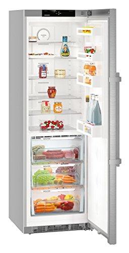 Liebherr KBef 4310-20 silber Kühlschrank mit BioFresh, Höhe 185 cm, A+++