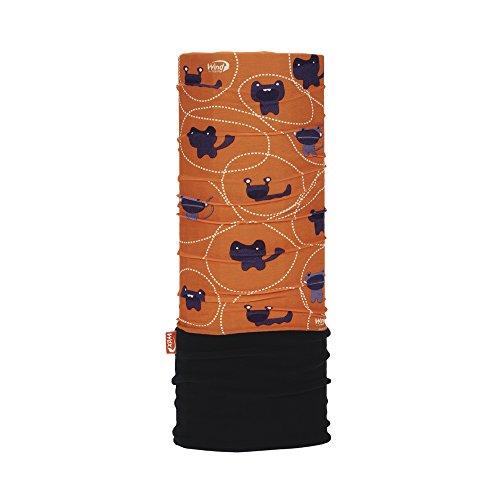 WIND X-TREME 2107 Tour de Cou Enfant, Orange (grumys), Taille Unique
