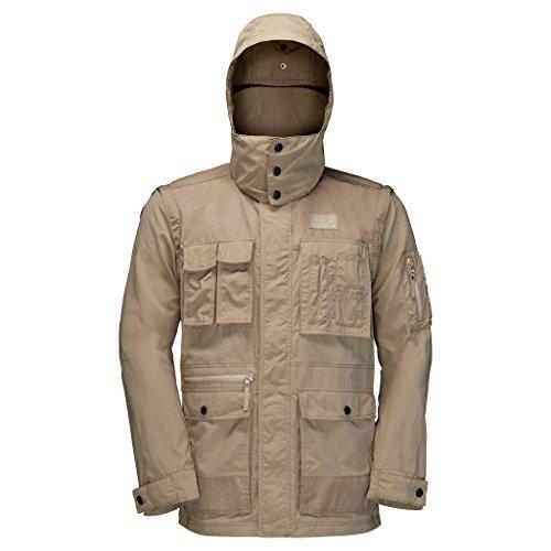 Jack Wolfskin Herren Jacke Atacama Jacket, sand dune, XXL, 1304461-5605006