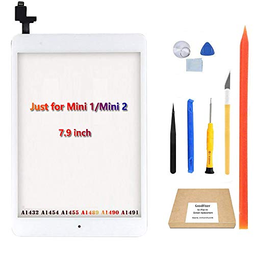 GoodFixer for iPad Mini 1/Mini 2 Touch Screen Digitizer (include IC Chip), iPad Mini 1/Mini 2 Touchscreen Display Assembly