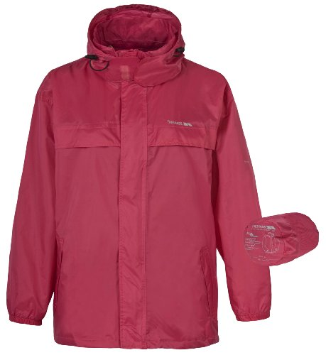 Trespass Regenjacke P-Way Himbeere XL