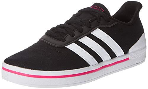 adidas, Heawin Core Sneakers voor dames, zwart/wolk, wit/shock pink, maat 36 2/3