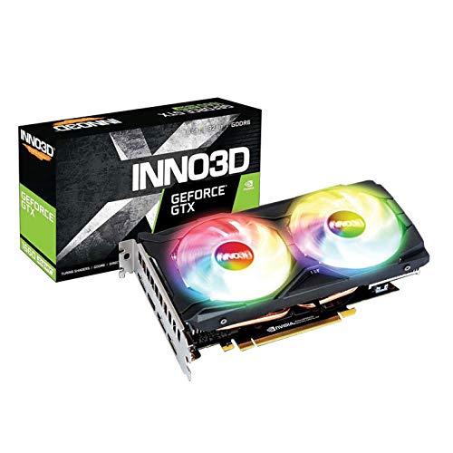Inno3D GeForce GTX 1660 Super Twin X2 OC RGB 6GB GDDR6 Grafikkarte 3xDP/HDMI