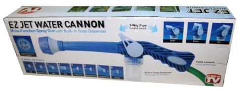 Preisvergleich Produktbild EZ Jet Sprühkanone für Wasserschlauch mit Seifenbehälter