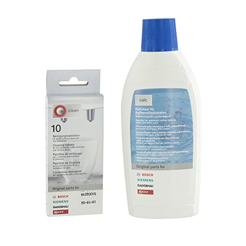 Europart Cleaning Tablet and Liquid Descaler Kit Fits Bosch/ Siemens