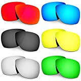 HKUCO Plus Mens Replacement Lenses For Oakley Breadbox - 6 pair