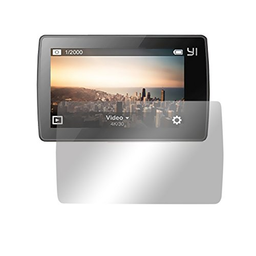 Slabo 2 x Displayschutzfolie für Xiaomi Yi 4K+ Action Cam Displayfolie Schutzfolie Folie Crystal Clear KLAR