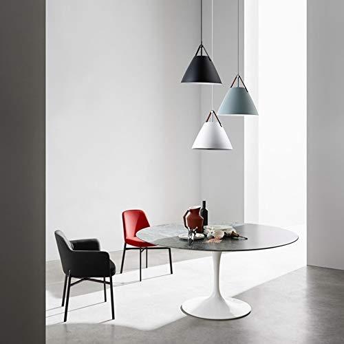 The only good quality interieur modern minimalistisch woonkamer slaapkamer creatieve verlichting eetkamer lamp bar Cafeteria Simple riem Dome lampenset (zwart/blauw/wit)