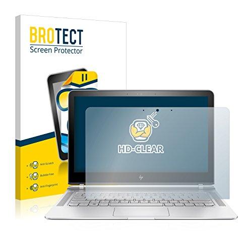 brotect Pellicola Protettiva Compatibile con HP Spectre 13-v131ng Pellicola Trasparente Anti-Impronte