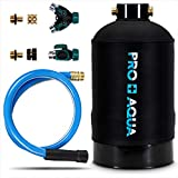 Portable RV Water Softener 16,000 Grain PRO Premium Grade, Trailers, Boats, Mobile Car Washing, High Flow 3/4