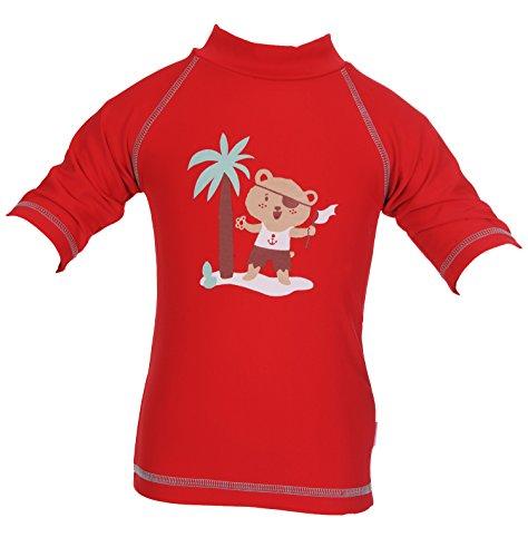 PIWAPEE - Tee-shirt anti-uv ourson pirate 3-6 mois