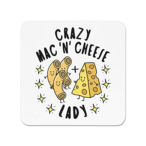 Crazy Mac N Cheese Lady Stars Fridge Magnet