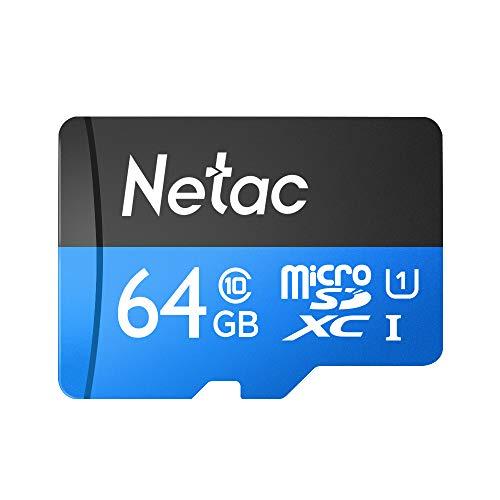 KKmoon Netac P500 Classe 10 64G Micro SDXC TF Cartão de Memória Flash Armazenamento de Dados de Alta Velocidade Até 80 MB/s