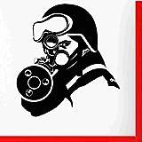 zaosan Etiqueta de la Pared Rifle Sticker Gun Decal AWP Carteles de Vinilo...