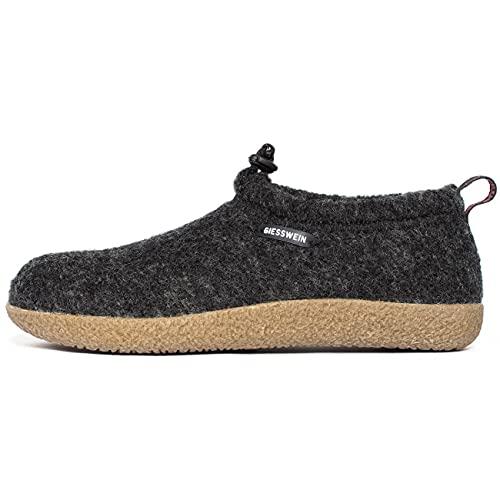 Giesswein Vent, Pantoffeln Unisex-Erwachsene, Grau, 37 EU