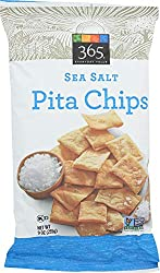 365 Everyday Value, Pita Chips, Sea Salt, 9 oz