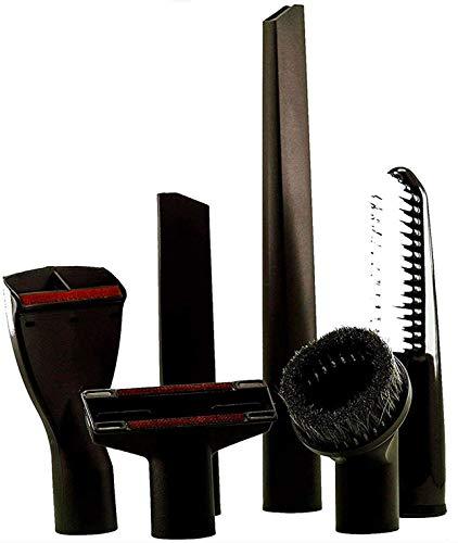 Maxorado XXL 32 mm Set di spazzole per aspirapolvere per auto compatibile con Thomas Numatic Henry James Electrolux Philips Fam Aspirapolvere ugelli George Charles Piccolo ugello Edward Hetty