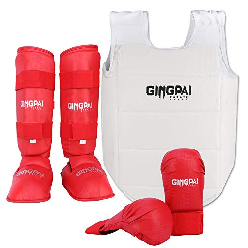 GINGPAI Karate Set 3-in-1 WKF genehmigt,...