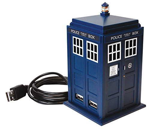 Dr Who DR115Der offizielle Doctor Who Tardis Hub Police Phone Box