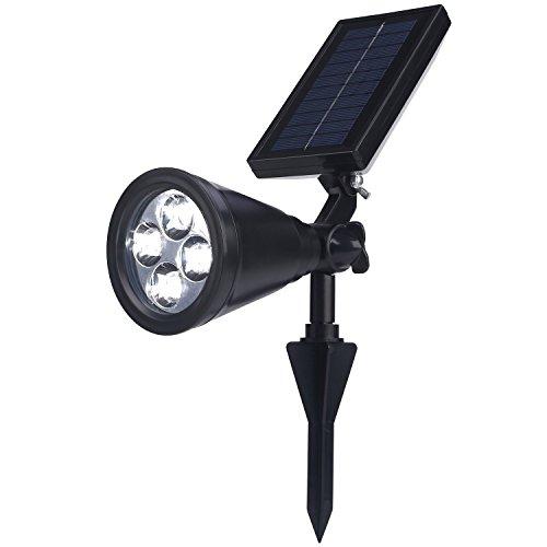 Demarkt Solarlampen, outdoor wandlamp, waterdicht IP65, veiligheidsverlichting, grote buitenverlichting voor tuin