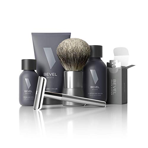 Shaving Kit for Men by Bevel - Starter Shave Kit, Includes Safety...