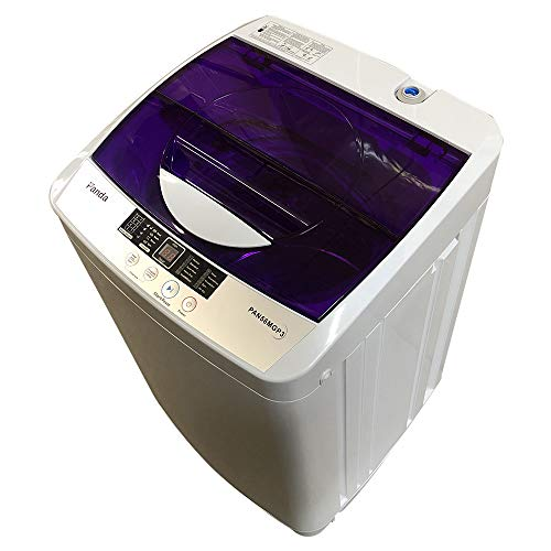 Panda PAN56MGP3 1.34cu.ft Portable Machine, 10lbs Capacity, 10 Wash Programs, 5 Water Level, Compact Top Load Cloth Washer, 1.34 Cu.ft, 1.6
