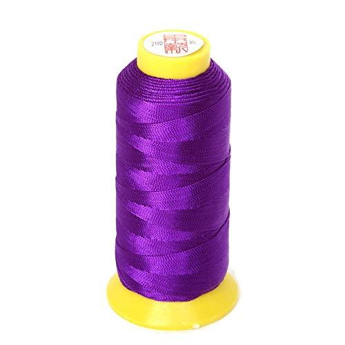 NDBBWG Hilo de Coser Tamaño 0,25 mm / 0,5 mm / 0,75 mm / 1,2 mm 7 Colores Hilo de cordón de Nudo Chino Hilo de Abalorios de Seda, para Manualidades de Costura de Hilo de Costura DIY, 12 retorcidos 2
