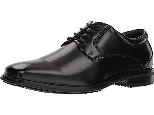 Dockers Mens Irving Slip Resistant Work Dress Oxford Shoe  Black  13 W