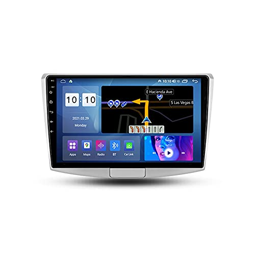 ADMLZQQ Autoradio per Volkswagen Passat 7 B7 2011-2015 2 DIN Android con Bluetooth 10.1'' IPS Touchscreen WiFi Plug And Play Completo RCA SWC Supporto Carautoplay/GPS/Dab+/OBDII,M600s