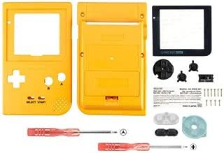 FidgetFidget Limited Full Housing Shell Buttons Mod Repair for Nintendo Game Boy Pocket GBP Yellow