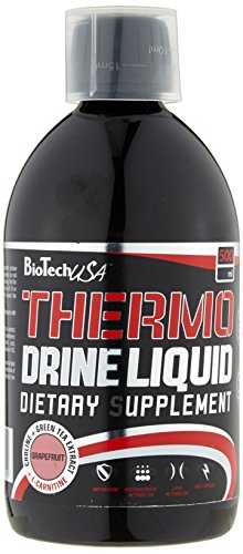 BioTech USA Thermo Drine Liquid  Grapefruit, 1er Pack (1 x 500 ml)