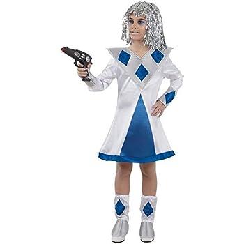 DISBACANAL Disfraz de galáctica niña - -, 8 años: Amazon.es ...
