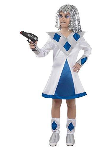 DISBACANAL Disfraz de galáctica niña - -, 6 años
