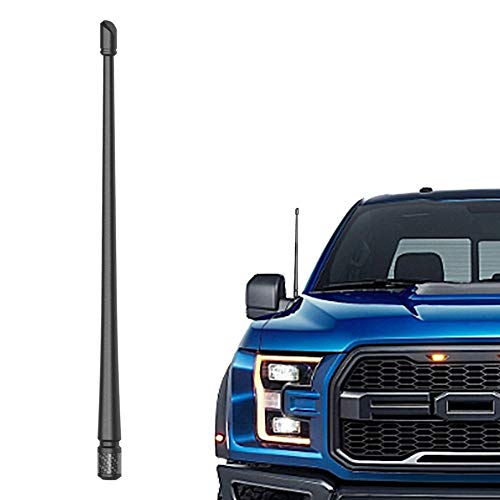 Rydonair Antenna Compatible with Ford F150 2009-2021 | 13 inches Flexible Rubber Antenna Replacement | Designed for Optimized FM AM Reception
