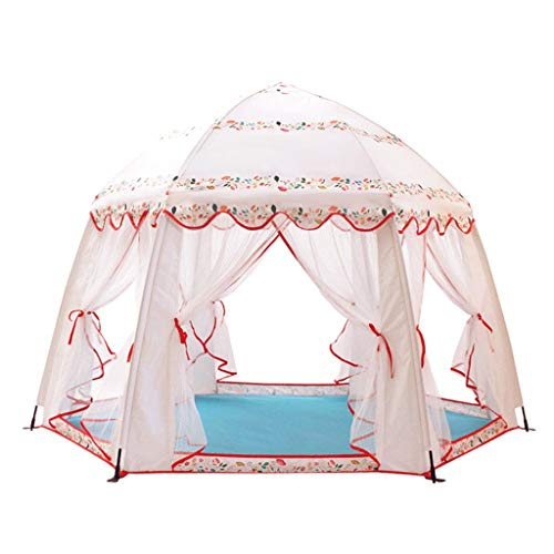 Buy qazxsw Play Tents Anti-Mosquito Tent, Indoor and Outdoor Child Castle Dream Game House Baby Fold Boys and Girls Split-Bed