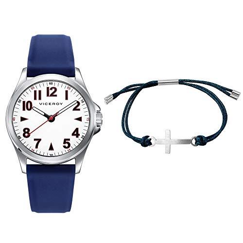 Reloj Viceroy Niño Pack 42397-04 + Pulsera Cruz