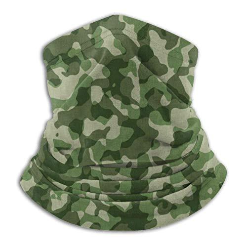 QDAS Militär Camo Bandana Gesichtsschutz für Männer Frauen Halswärmer Gamasche Mundschutz