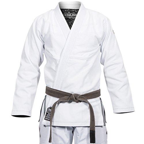 Venum Elite Classic Kimono BJJ Gi, Unisex Adulto, Blanco, A0