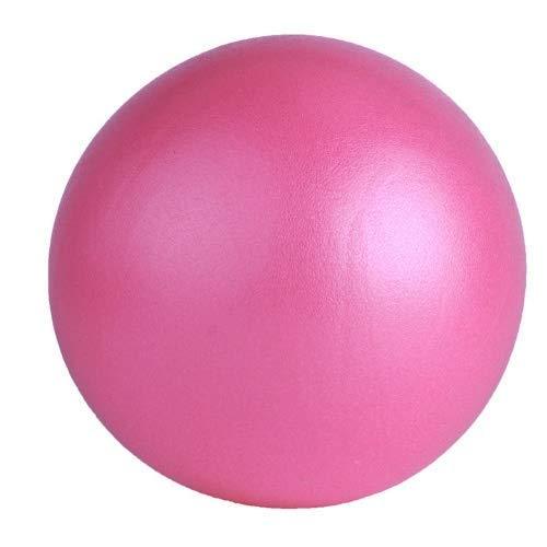 Jary Yoga de la Bola de 25 cm de Pilates Entrenamiento de la Aptitud Antideslizante Bola de los Deportes li (Color : Pink)