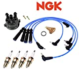 Ignition Tune-Up Kit Spark Plugs & Wires for Toyota Pickup 4Runner 2.4L 22RE