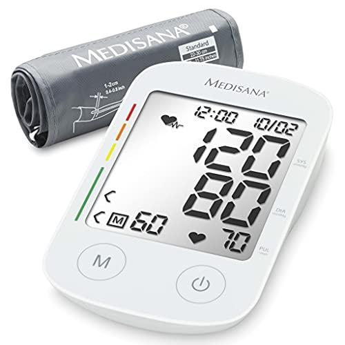 Medisana BU 535 Tensiómetro para el brazo, pantalla de arritmia, escala de colores de los...