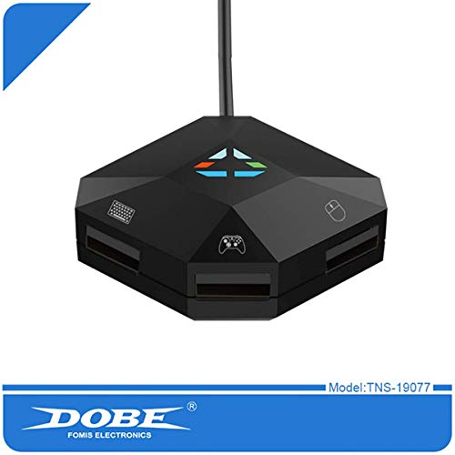 DOBE TNS-19077 NS-Switch Keyboard and Mouse Converter Supports N-Switch PS4 / PS3 / Xbox ONE / 360 Host Series Converter
